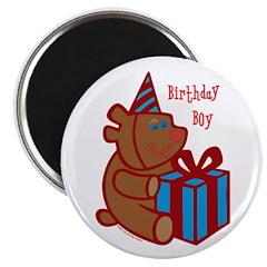 Birthday Boy Bear Magnet
