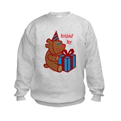 Birthday Boy Bear Sweatshirt