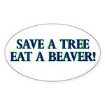 Eat a Beaver sticker