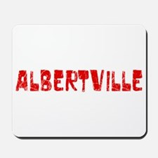 Albertville Faded (Red) Mousepad