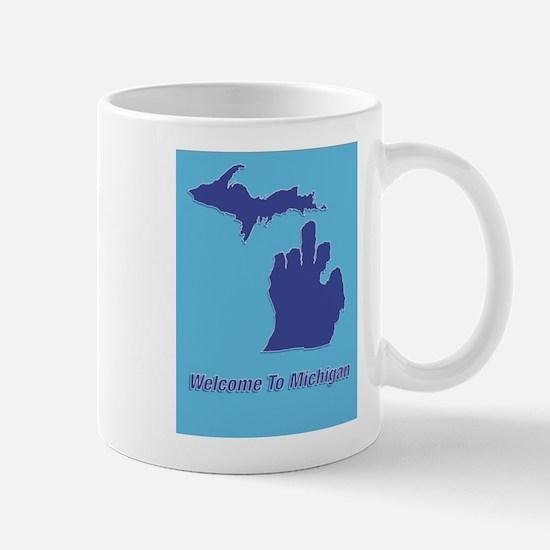 Welcome To Michigan Mug