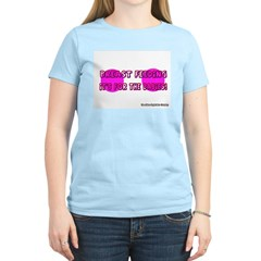 Breast Feeding Women's Pink T-Shirt