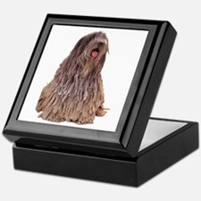 Bergamasco Sheepdog Sitting Keepsake Box