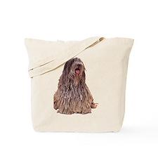 Bergamasco Sheepdog Sitting Tote Bag