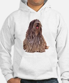 Bergamasco Sheepdog Sitting Jumper Hoody