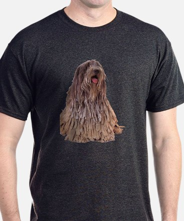 Bergamasco Sheepdog Sitting T-Shirt