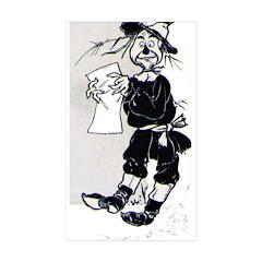 Scarecrow Rectangle Sticker 10 pk)