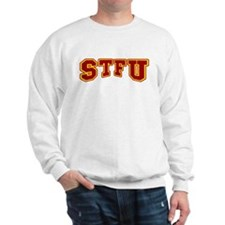 STFU Funny Fake University Sweatshirt