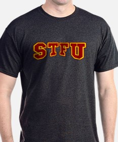 STFU Funny Fake University T-Shirt