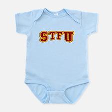 STFU Funny Fake University Infant Bodysuit