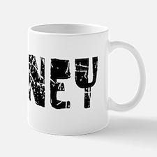 Downey Faded (Black) Mug