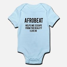 Afrobeat Helps me escape from the Infant Bodysuit