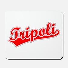 Retro Tripoli (Red) Mousepad