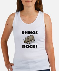 Rhinos Rock! Women's Tank Top
