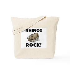 Rhinos Rock! Tote Bag