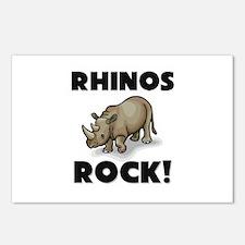 Rhinos Rock! Postcards (Package of 8)