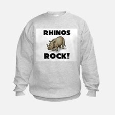Rhinos Rock! Sweatshirt