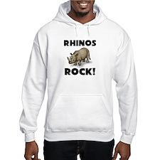 Rhinos Rock! Hoodie