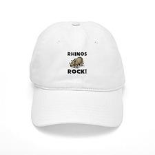Rhinos Rock! Baseball Baseball Cap