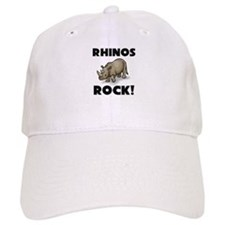Rhinos Rock! Baseball Cap