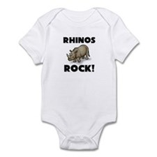 Rhinos Rock! Infant Bodysuit