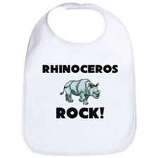 Rhinoceros Rock! Bib