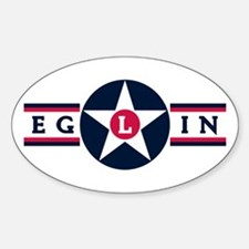 Eglin Air Force Base Oval Decal