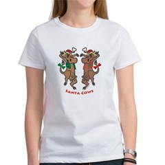 Santa Cows Women's T-Shirt