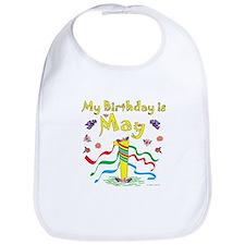 May Day May 1st Birthday Bib