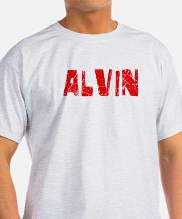 Alvin Faded (Red) T-Shirt