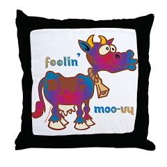 Moovy Throw Pillow