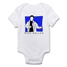 Rick Rolled Infant Bodysuit