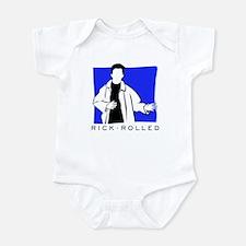 Rick Rolled Infant Bodysuit