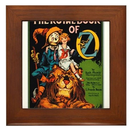 Royal Book Framed Tile