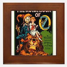 Royal Book Framed Tile