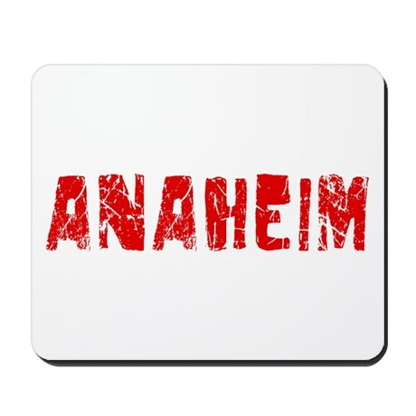 Anaheim Faded (Red) Mousepad