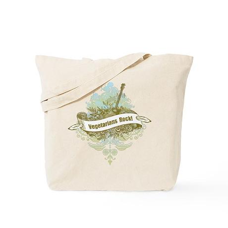 Vegetarians Rock Tote Bag