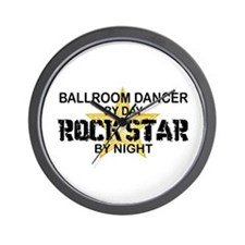 Ballroom Dancer Rock Star by Night Wall Clock