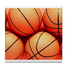 Basketball Fans Tile Coaster