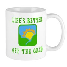 Life's Better Off the Grid Mug