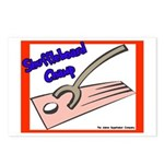 Shuffleboard Champ Postcards (Package of 8)
