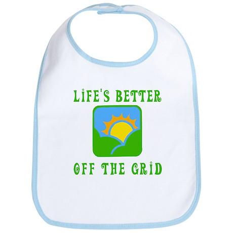 Life's Better Off the Grid Bib