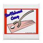 Shuffleboard Champ Tile Coaster