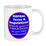 Repeal Taxes #3c Mug