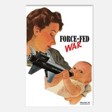 Force Fed War Postcards (Package of 8)