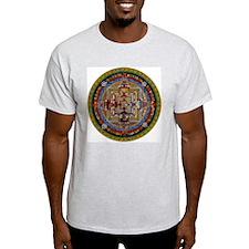 Kalachakra Ash Grey T-Shirt