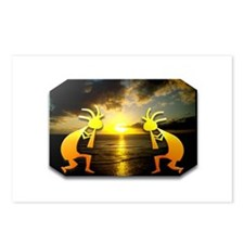 Two Kokopelli Sunset Postcards (Package of 8)