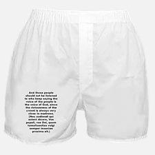 Unique Quotable quotes Boxer Shorts