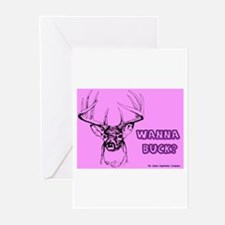 Wanna Buck ? Greeting Cards (Pk of 10)