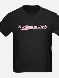 Vintage Huntington.. (Pink) T